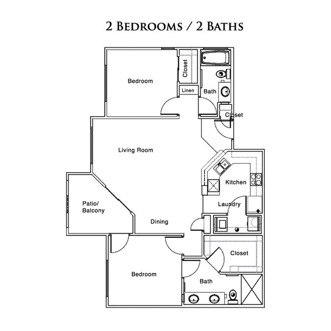 1 And 2 Bedroom Apartment Floor Plans Show Low By Elk